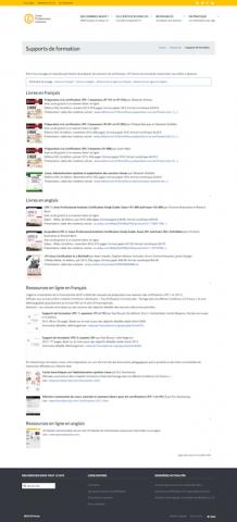 Site LPI France. Liste de ressources conseillées